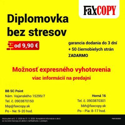 DIPLOMOVKA FAXCOPY