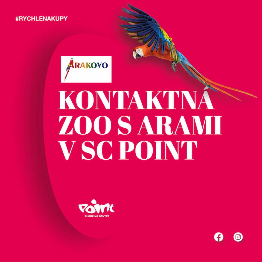 Otvárame najväčšiu kontaktnú ZOO s arami a exotickým vtáctvom